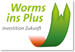 Worms ins Plus