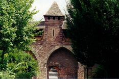 Luther's Gate next to the Nibelungen Museum, photo: Worms City Archive