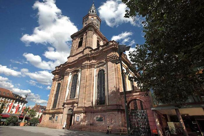 Holy Trinity Church on the Market Square, photo: Rudolf Uhrig