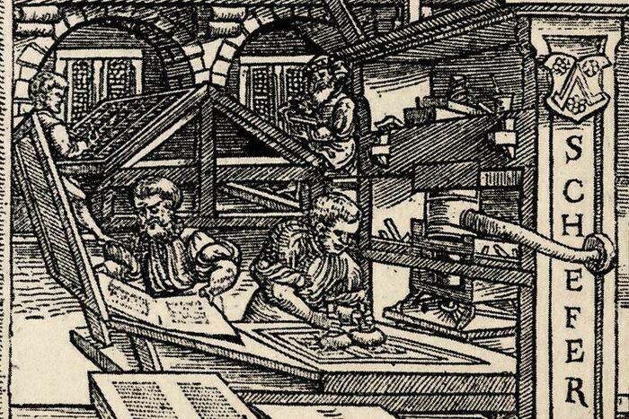 Schöffer`s print shop