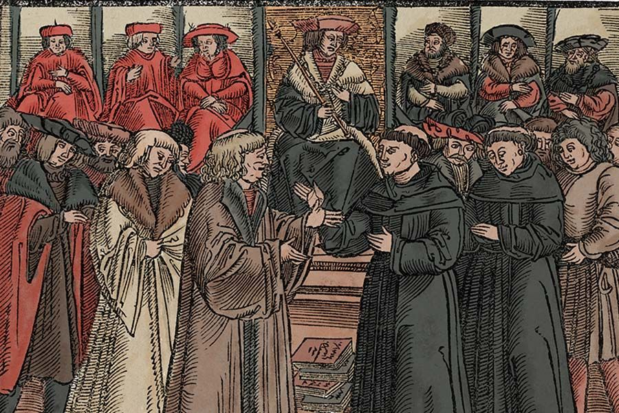 where was diet of worms held