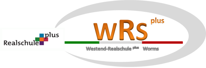 Logo: Westend Realschule plus Worms (WRS)