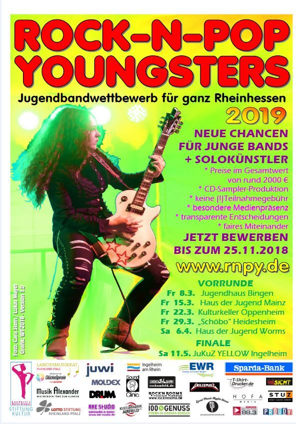 Rock n Pop Youngsters 2019
