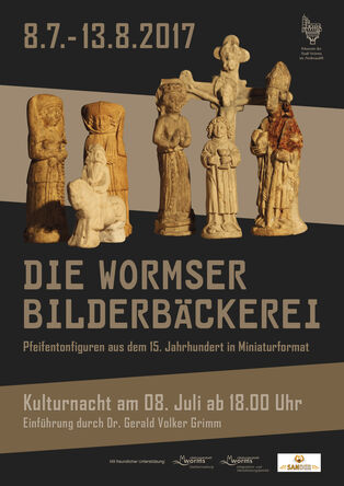 "Poster for the special exhibition ""Die Wormser Bilderbäckerei"" (""The Image Bakery in Worms"")"